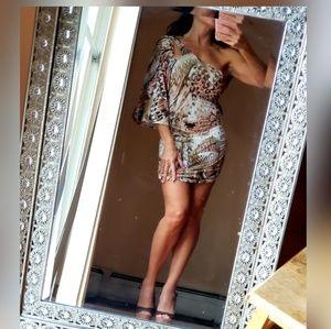 One shoulder dress/XS-S